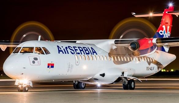 Air Serbia Online kupovina avio karata Beograd Stutgart Varsava Solun