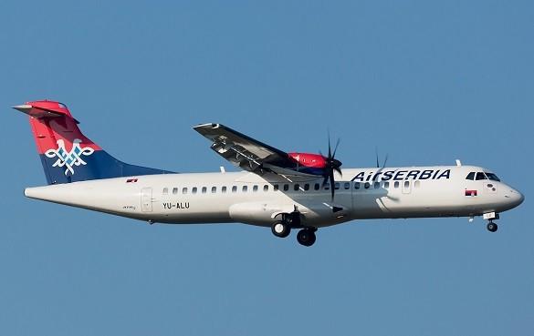 Air Serbia Srecan Petak Beograd Bukurest Kopenhagen Frankfurt