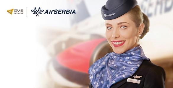 Air Serbia codeshare promo Etihad Airways Beograd