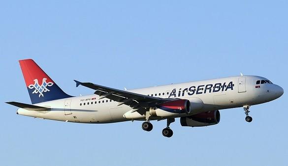 Air Serbia online kupovina avio karata nedeljom Beograd Zagreb Skoplje Tel Aviv