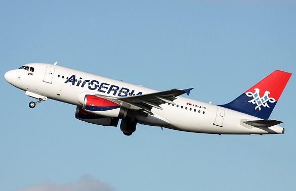 Air Serbia online rezervacija avio karata Beograd Berlin Tirana Solun