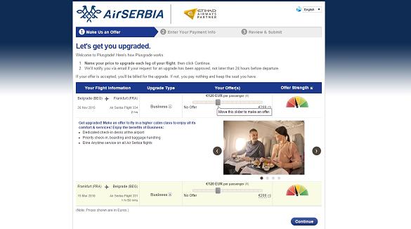 Friday Blog Air Serbia apgrejd
