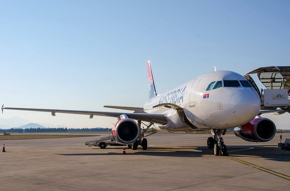 Friday Blog Air Serbia aukcija