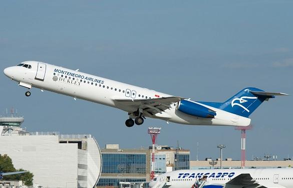 Montenegro Airlineas avio karte rani buking Podgorica Tivat