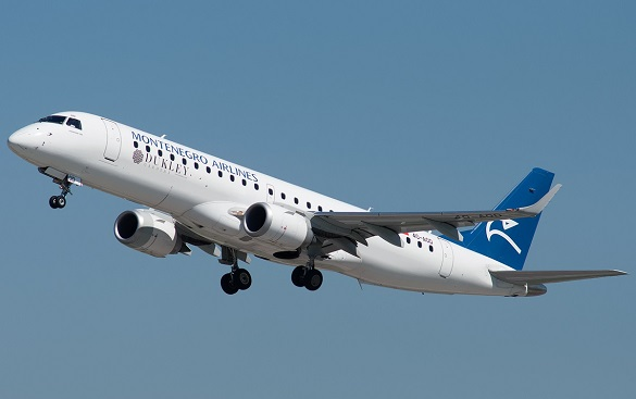 Montenegro Airlines novembar jesenja akcija avio karte Podgorica Tivat