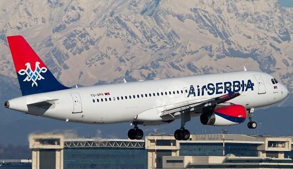 Air Sebia avio karte Beograd Sarajevo Zagreb Frankfurt