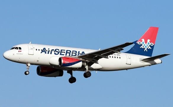 Air Serbia povoljne avio karte Beograd Bejrut Sarajevo Abu Dabi Solun