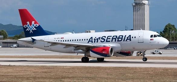 Air Serbia Beograd Solun Skoplje Berlin