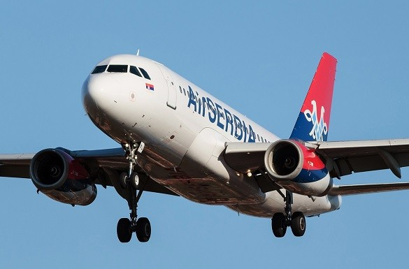 Air Serbia Online kupovina avio karte Beograd Brisel Milano Bejrut