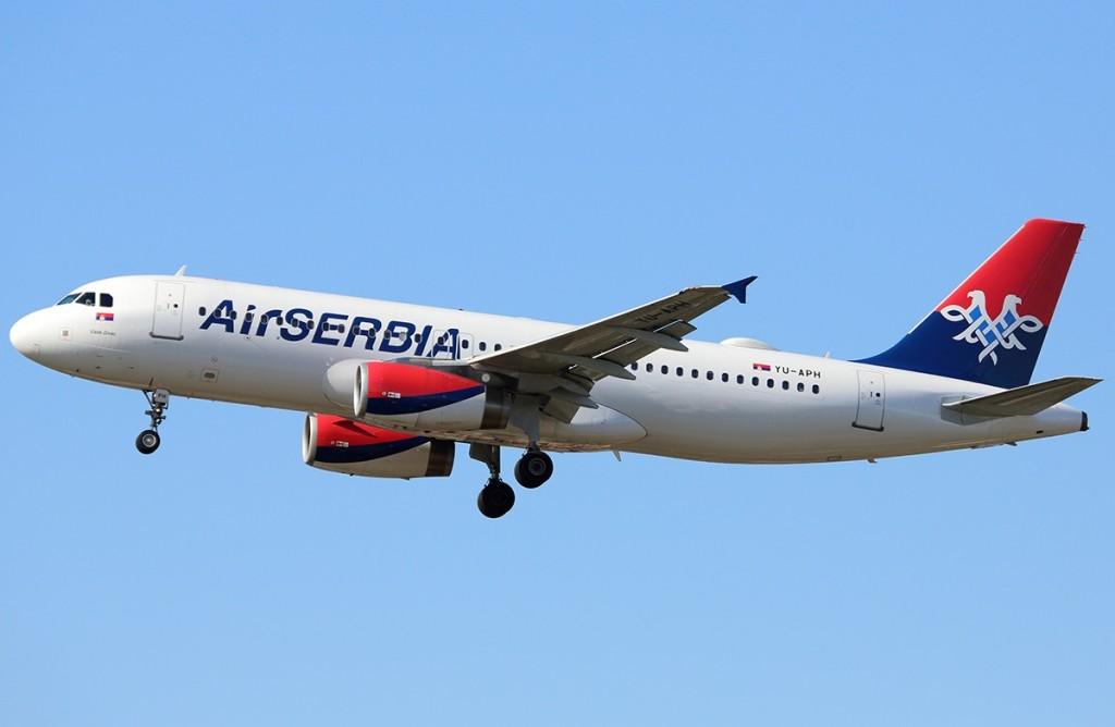 Air Serbia Happy Friday Srecan Petak Beograd Milano Bejrut