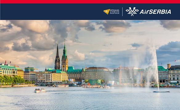 Air Serbia avio karte Beograd Hamburg