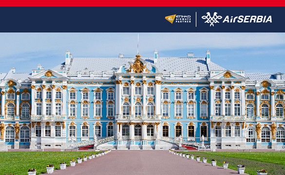 Air Serbia – Prodaja avio karata Beograd Sankt Peterburg  Play Travel