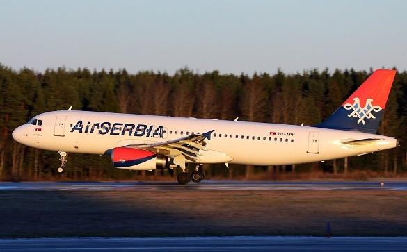 Air Serbia online kupovina avio karte Beograd Diseldorf Tel Aviv