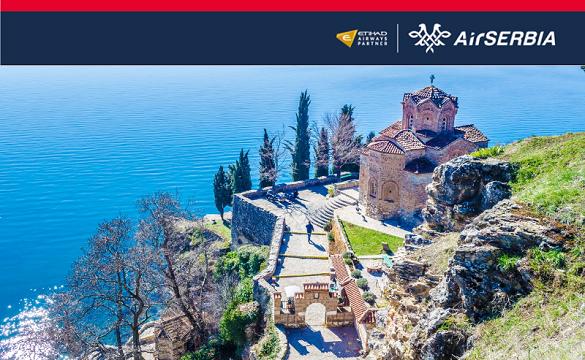 Air Serbia prodaja avio karata Beograd Ohrid