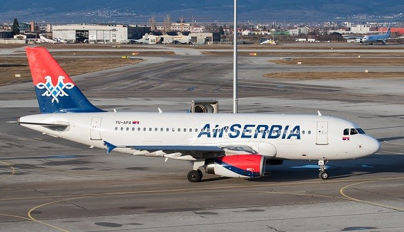 Air Serbia Happy Friday Beograd Bejrut Stutgart Kijev avio karte