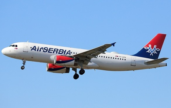 Air Serbia Srecan Petak avio karte Zagreb Berlin Skoplje