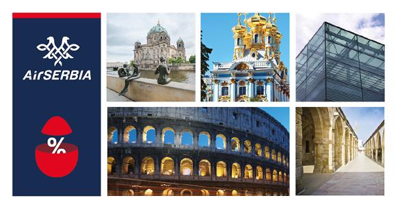 Air Serbia velika promotivna akcija Uskrs avio karte