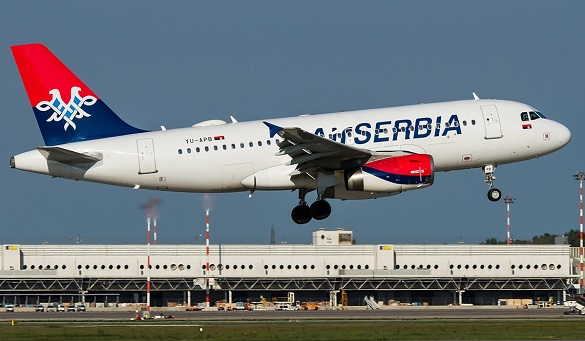 Air Serbia 13 maj Happy Friday avio karte Beograd Moskva Varna Solun Hamburg