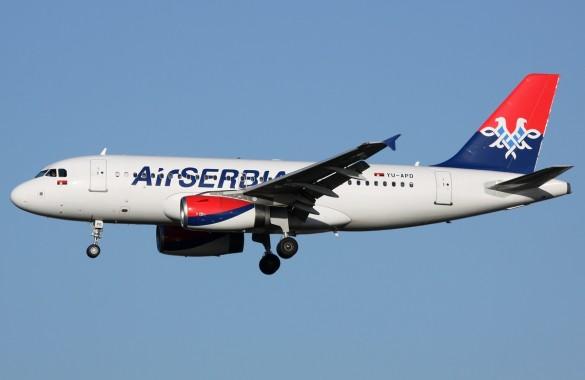 Air Serbia happy friday promo avio karte Beograd Split Milano