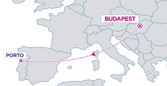 Wizz Air avio karte Budimpesta Porto avio karte