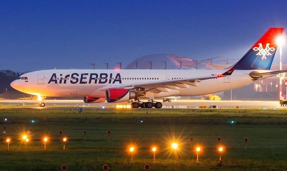 Air Serbia Happy Friday avio karte Beograd Kijev Hamburg