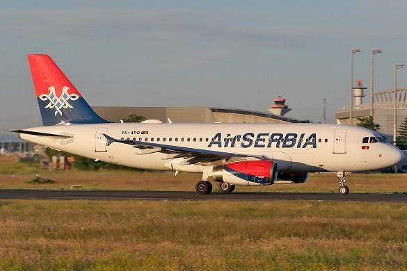 Air Serbia online kupovina avio karata Beograd Skoplje Tel Aviv