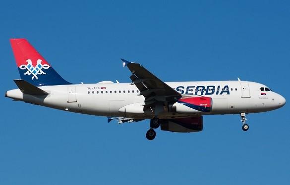 Air Serbia Beograd Diseldorf Tel Aviv avgust 2016 online kupovina