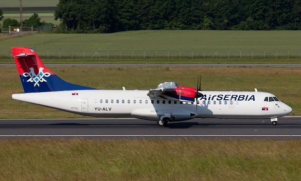 Air Serbia promotivna akcija srećan petak Beograd Hamburg Solun