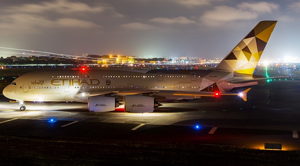 Etihad Airways promotivna akcija Azija Afrika Australija septembar 2016