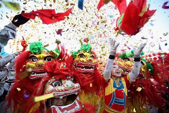 Najzabavniji januar u Evropi kineska nova godina London