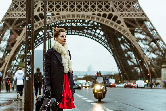 u Parizu tokom Nedelje mode