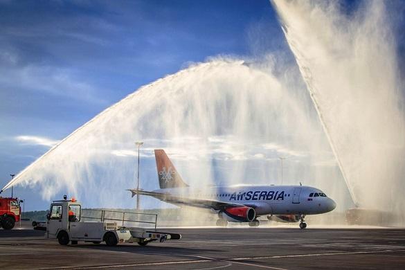 Air Serbia Beograd Sankt Peterburg avio karte linija nagrada