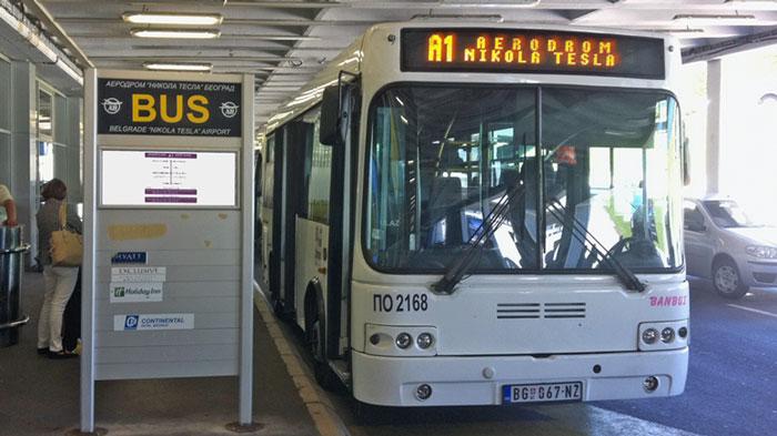 Prevoz do Aerodroma Autobus A1