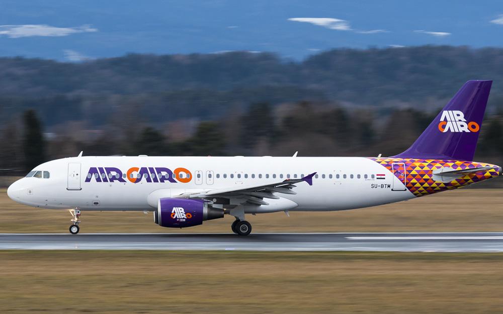 Air Cairo avio kompanija novi dizajn livery