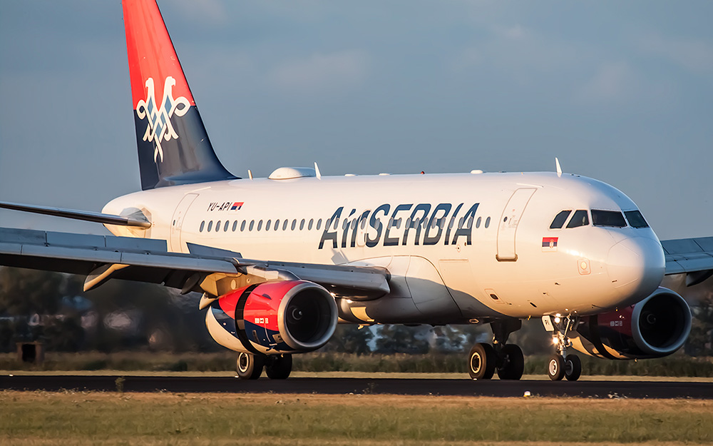 Air Serbia - Letovi na 39 linija do kraja juna