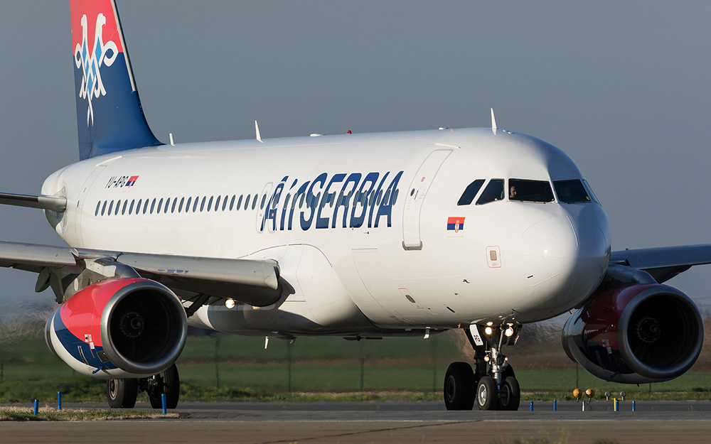 Air Serbia - Pokreće letove iz Niša, avio karte su u prodaji