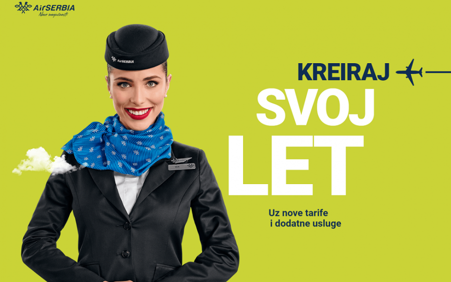 Air Serbia - Predstavljen novi tarifni sistem