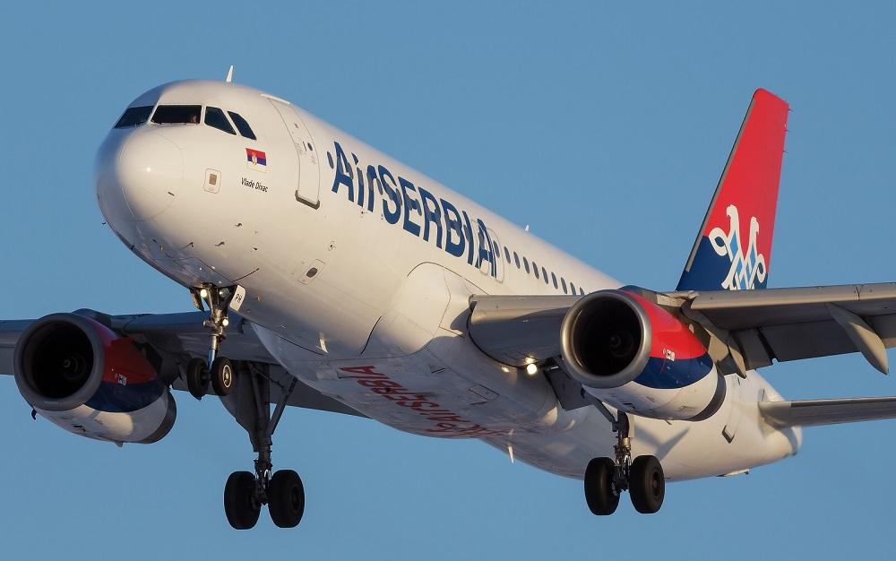 Air Serbia - Promotivne cene za 10 destinacija u okviru White tarife