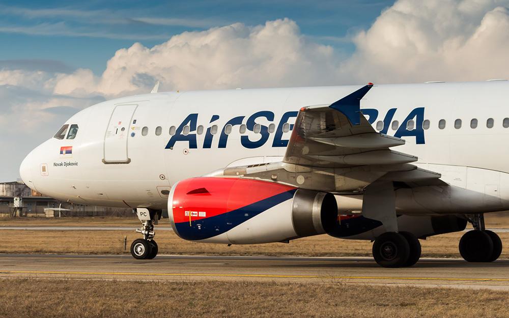 Air Serbia - Snižene cene avio karata za Evropu 31 oktobar