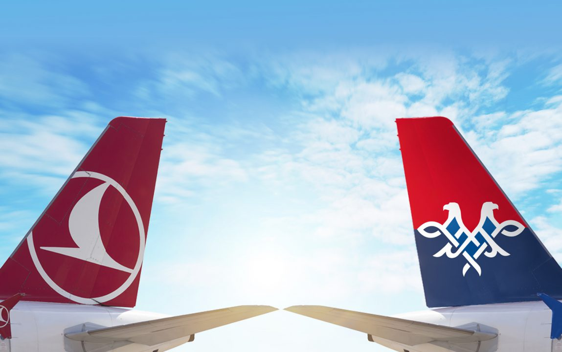 Air Serbia i Turkish Airlines postigli kod-šer sporazum