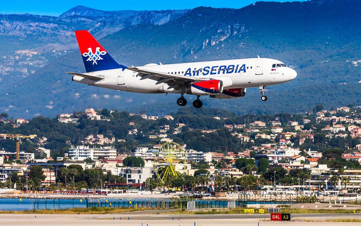 Air Serbia obnavlja letove ka Barseloni, Madridu i Nici