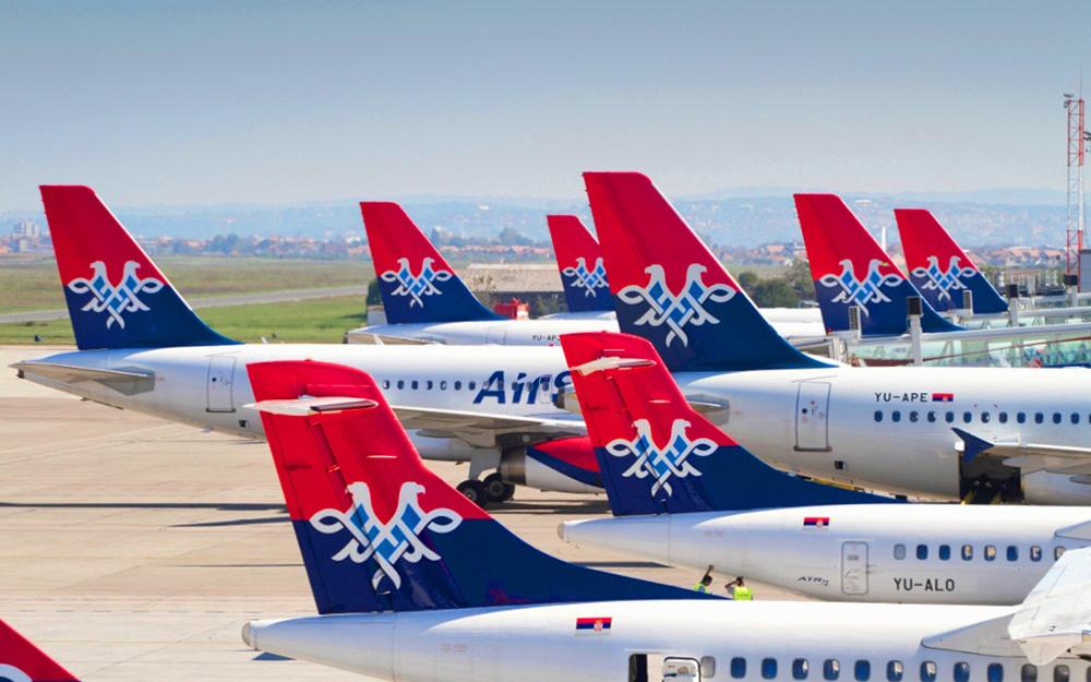Air Serbia otkazala više od 300 letova