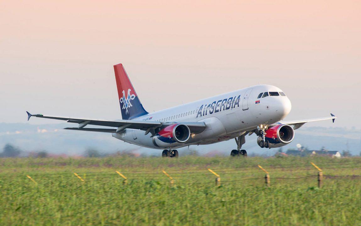 Air Serbia otkazuje četiri linije iz Beograda