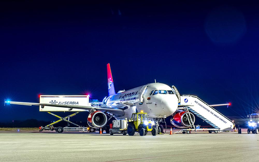 Air Serbia ove nedelje pokreće još 6 novih linija iz Niša