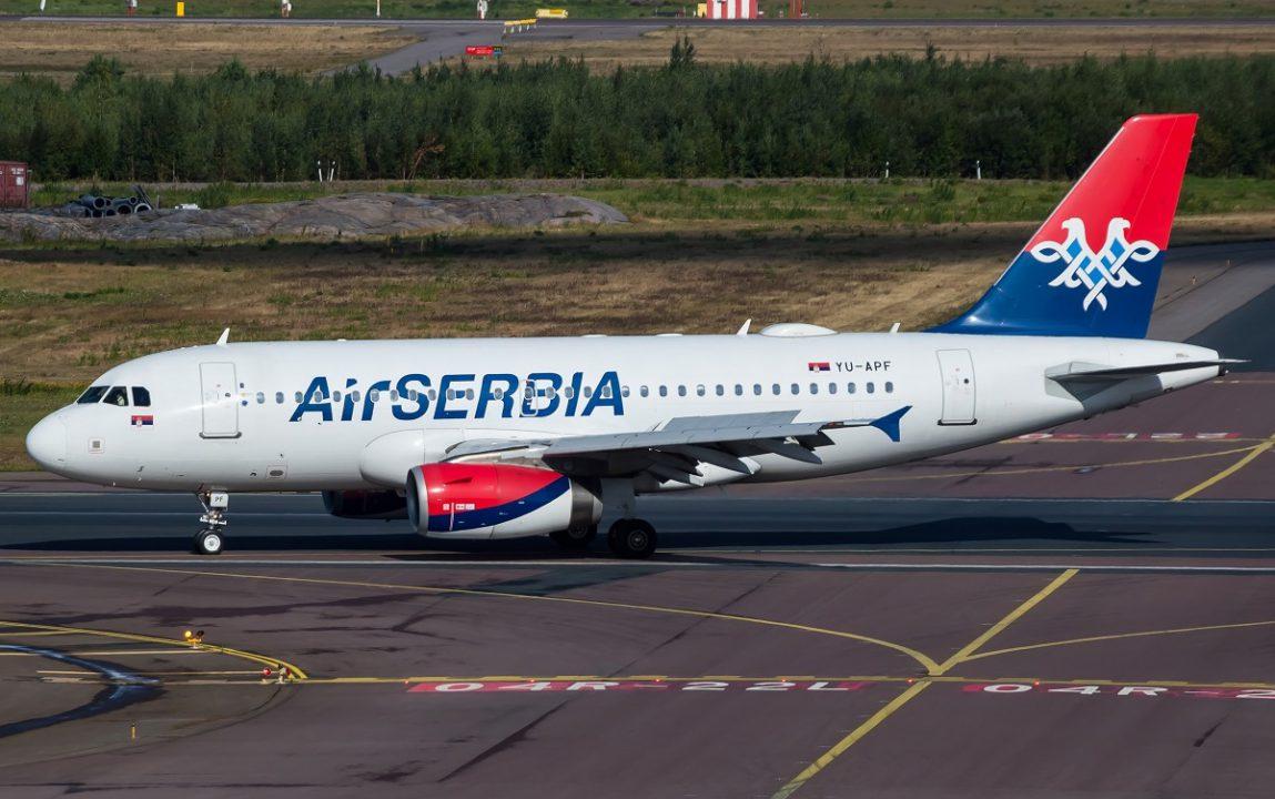 Air Serbia povećava broj letova prema Crnoj Gori