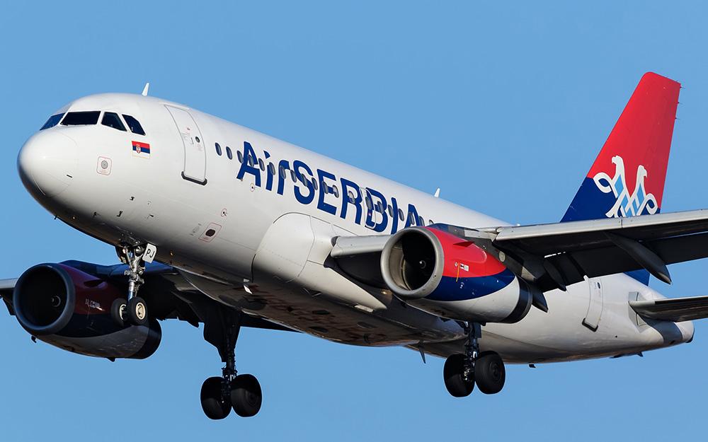 Air Serbia povećava broj letova tokom letenje sezone 2019