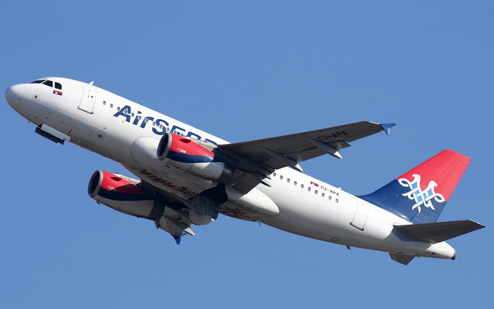Air Serbia povećava broj letova tokom zime 2019