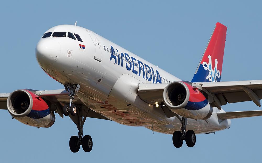 Air Serbia povećava broj letova za Švajcarsku i Crnu Goru