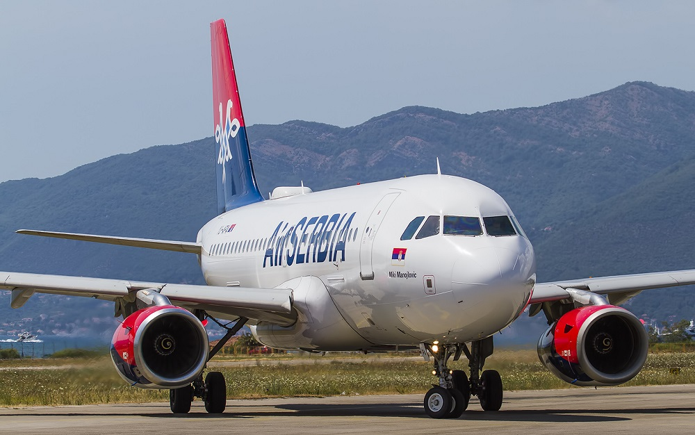 Air Serbia smanjuje broj letova tokom zime