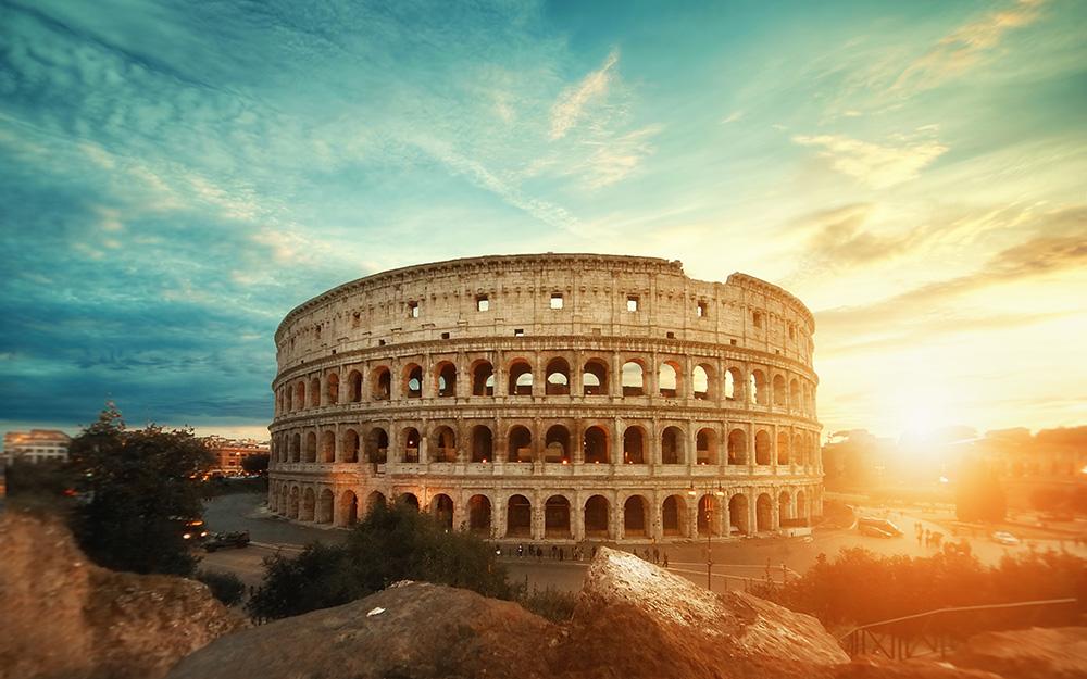 Alitalia - Povoljne avio karte za Italiju jun Rim koloseum 2018